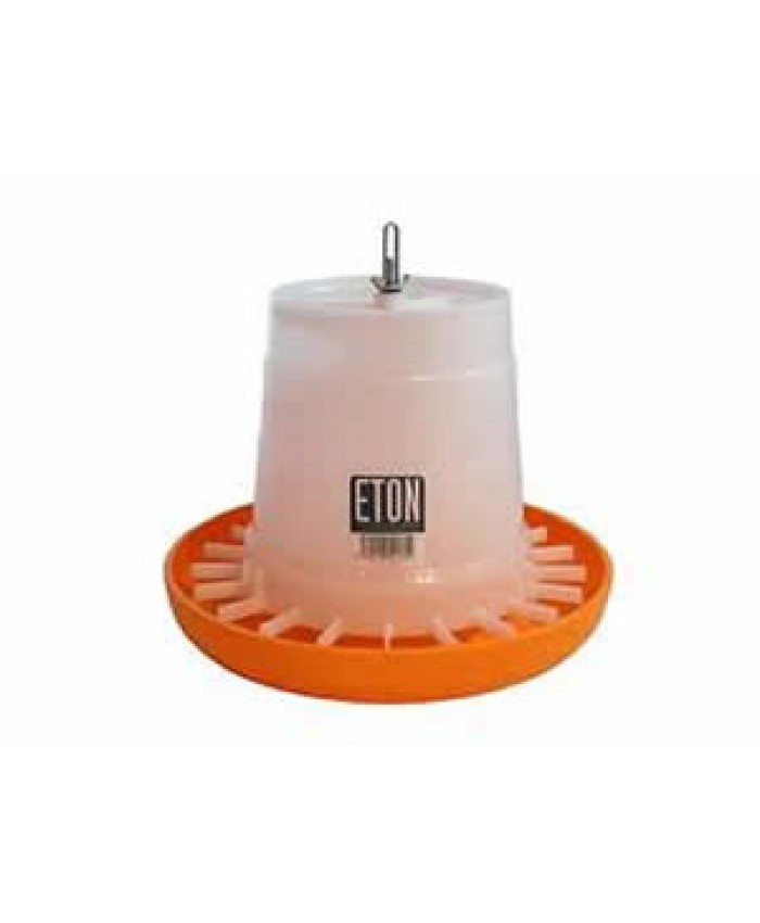 3Kg Eton Orange/White Feeder