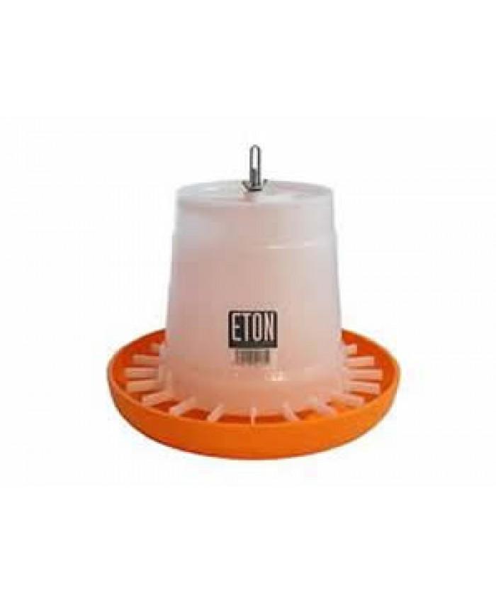 3Kg Eton Orange/White Feeder