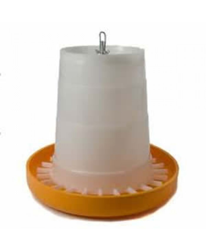 5Kg Eton Orange/White Feeder