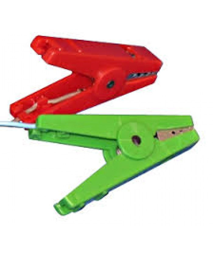 Agrifence Crocodile Clips Red/Green