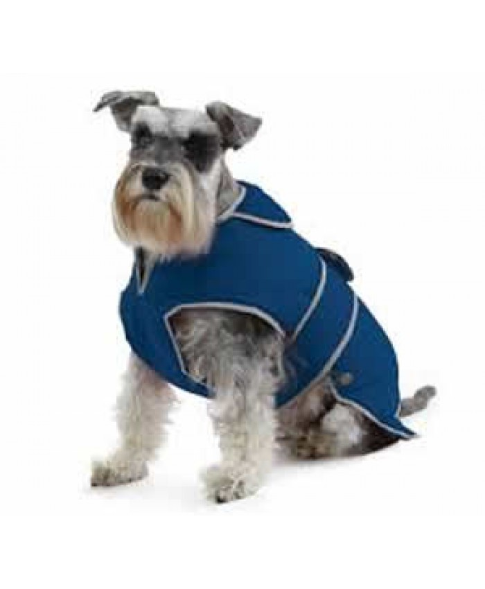Ancol Muddy Paws Stormguard Coat with Fleece Lining - Blue