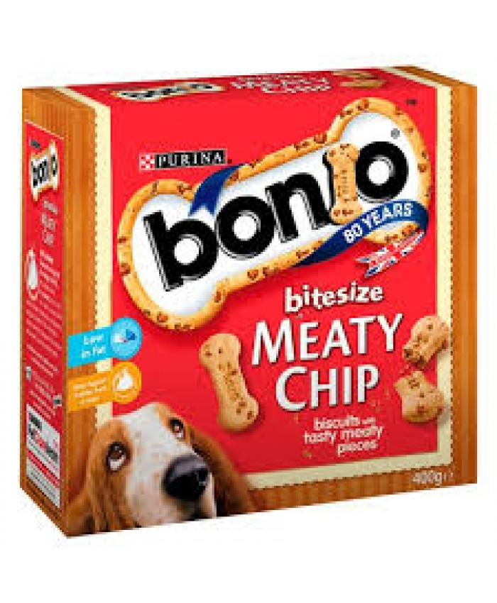 Bonio Meaty Chip Bitesize Dog Treats
