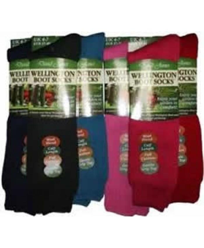 David James Wellington Boot Socks Size 4-7