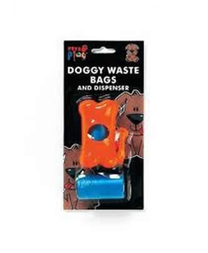 Dog Waste Bags and Dispenser