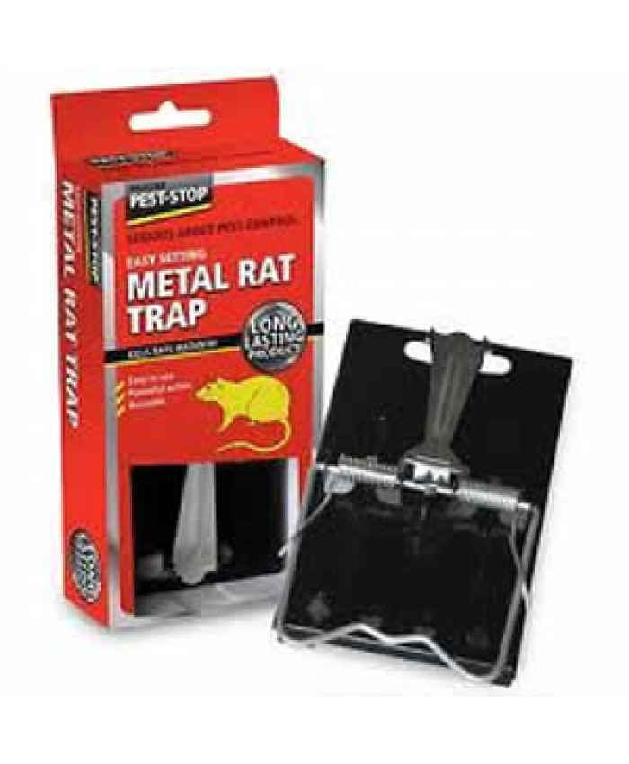 Easy Setting Metal Rat Trap