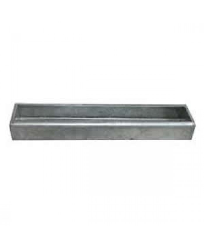 Galvanised Feed Trough 24""