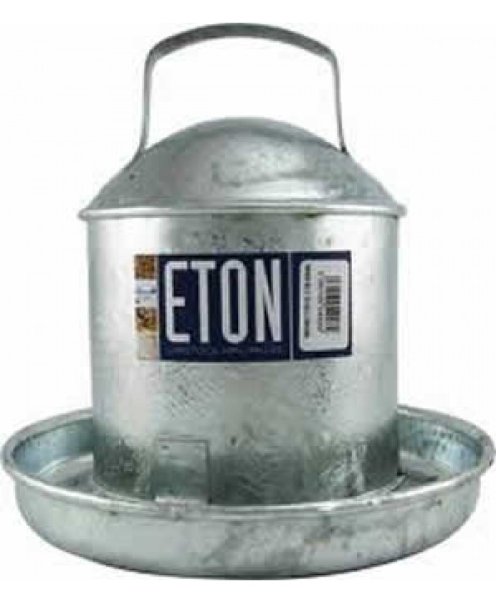 Galvanised Traditional Drinker 0.5 Gallon