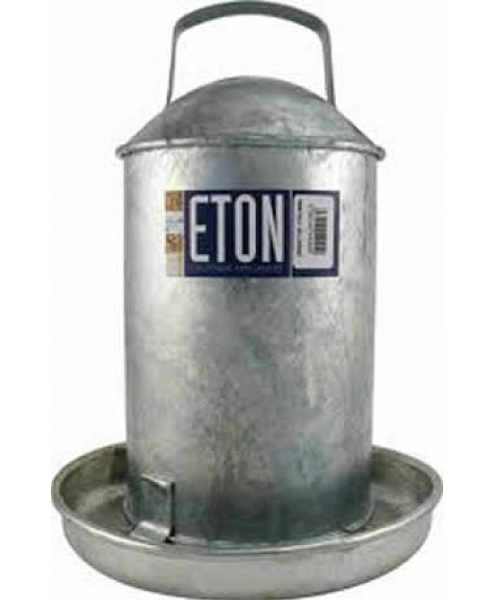 Galvanised Traditional Drinker 1 Gallon