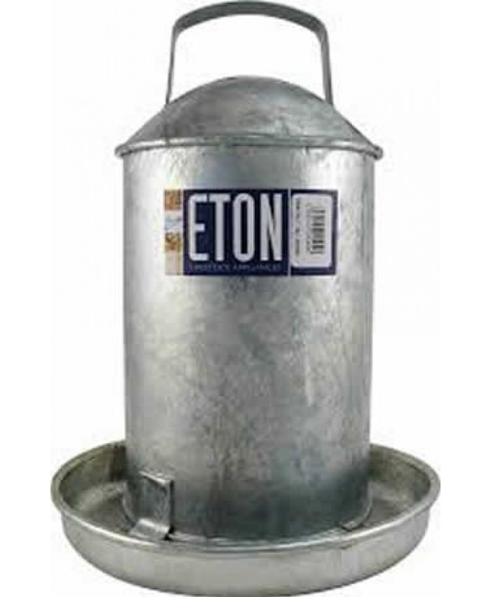 Galvanised Traditional Drinker 2 Gallon