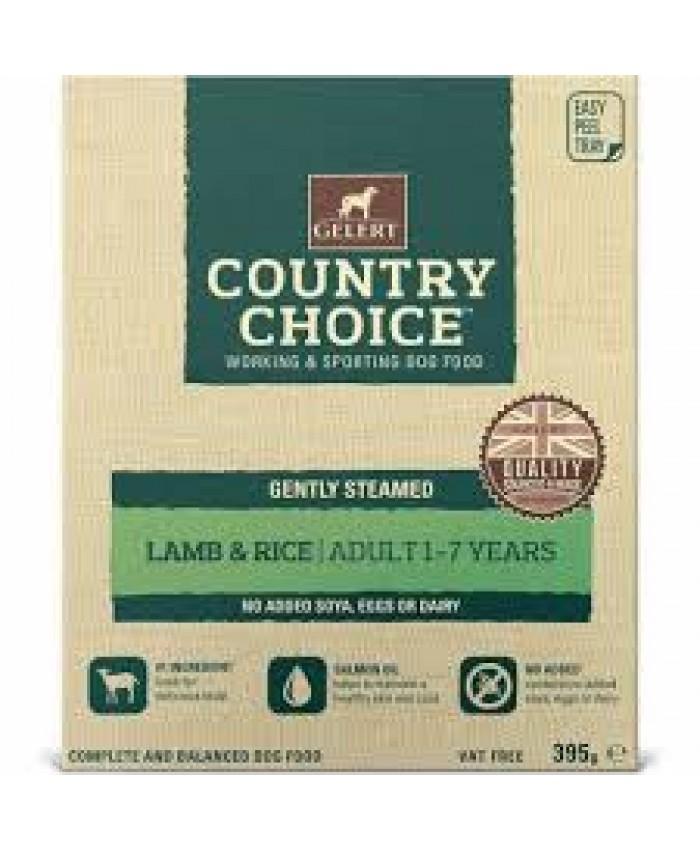 Gelert Country Choice Lamb & Rice Tray