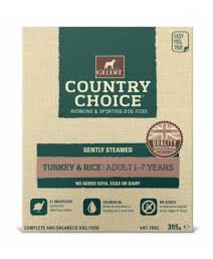 Gelert Country Choice Turkey & Rice Tray