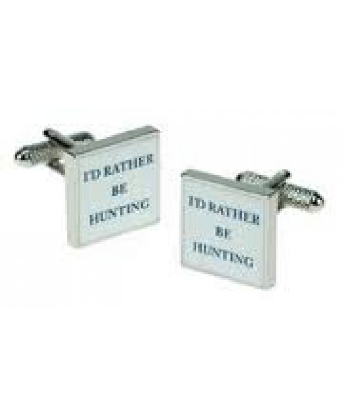 I'd Rather Be Hunting - Cufflinks