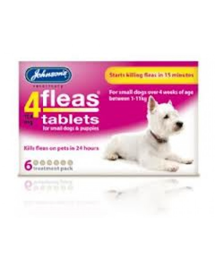 4Fleas Tablets Puppy/Small Dog
