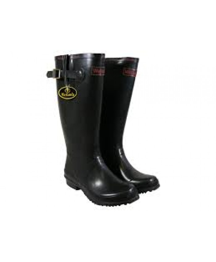 Ladies Black Welly