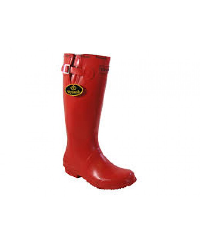 Ladies Red Welly