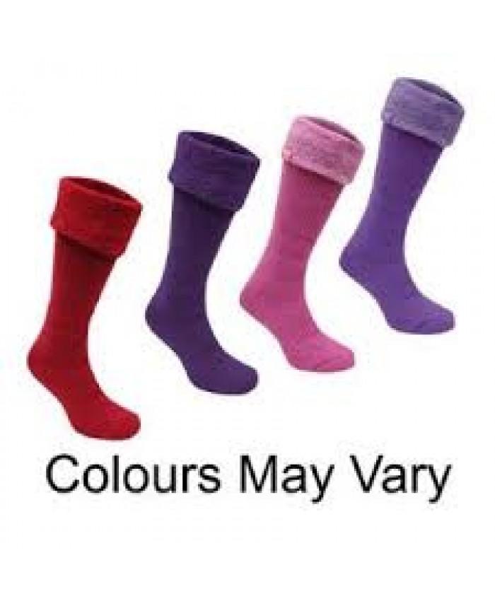 Ladies Heat Holders Wellington Boot Socks