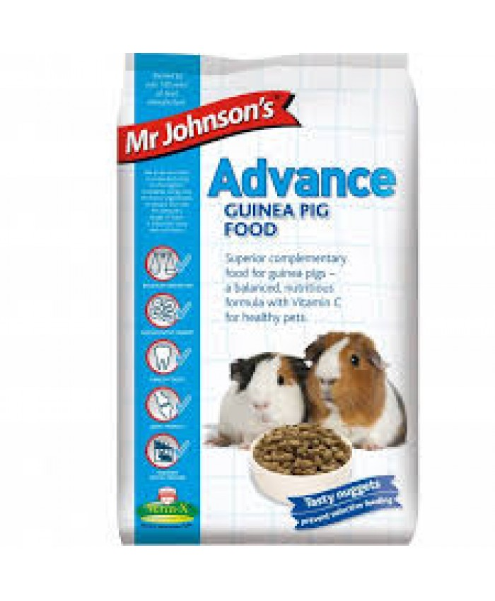 Mr Johnsons Advance Guinea