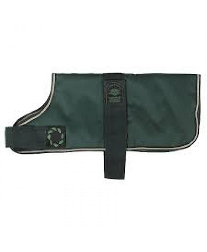 Outhwaites Padded Green Dog Coat