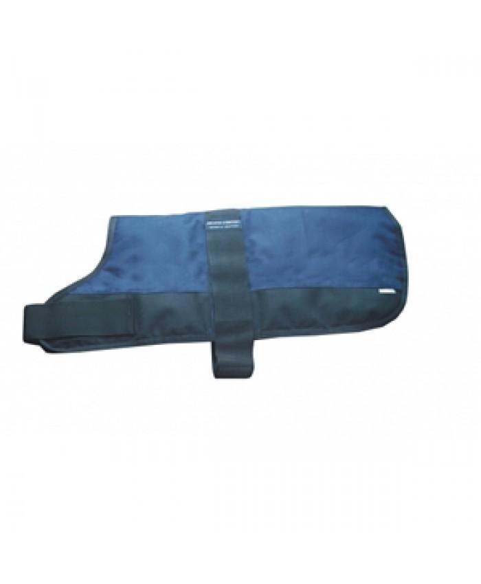 Outhwaites Padded Dog Coat Blue/Black