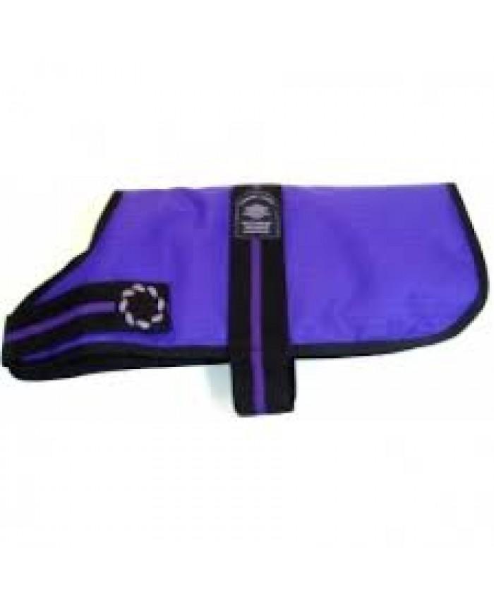 Outhwaites Padded Purple Dog Coat