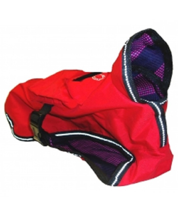 Outhwaites Waterproof Rugged Coat Red