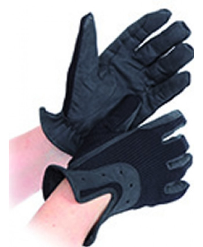 Shires All Day Riding Gloves Black