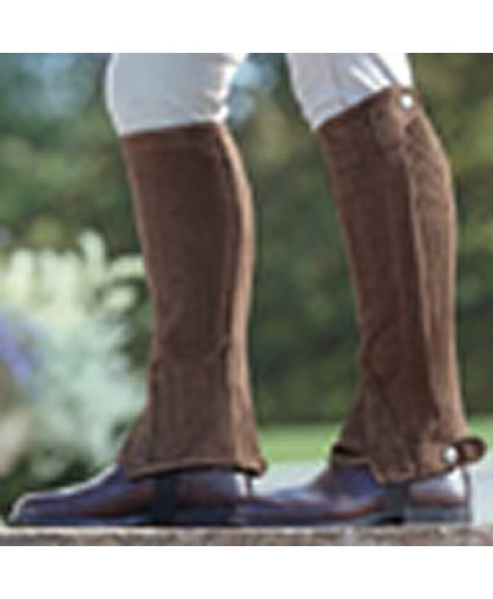 Shires Brown Amara Half Chaps