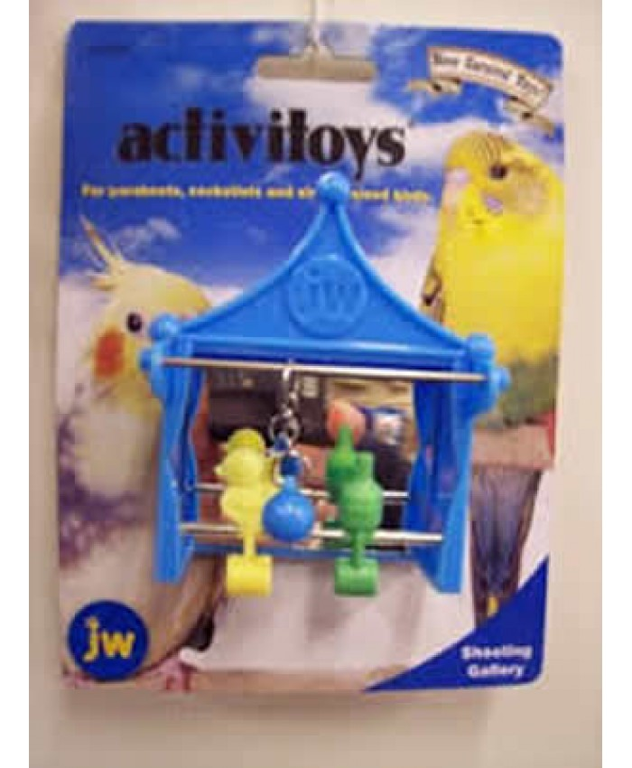 Shooting Gallery Small Bird Activity Toy