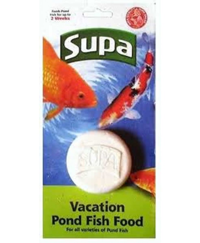 Supa Vacation Pond Fish Food Block