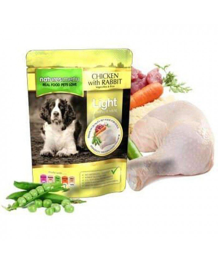 Natures Menu Adult Light Chicken and Rabbit 8 Pack