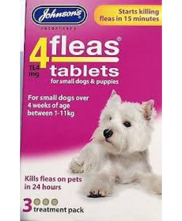 4Fleas Tablets Puppy/Small Dog