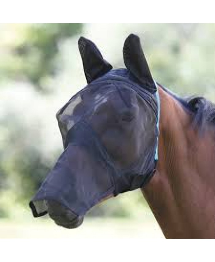 Fine Mesh Fly Mask with Ear Holes and Nose
