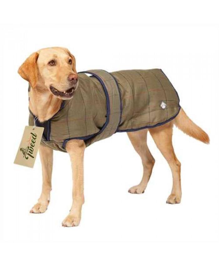 Danish Design Tweed Dog Coat