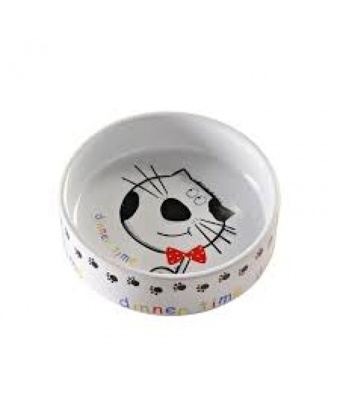 Dinner Time Cat Bowl
