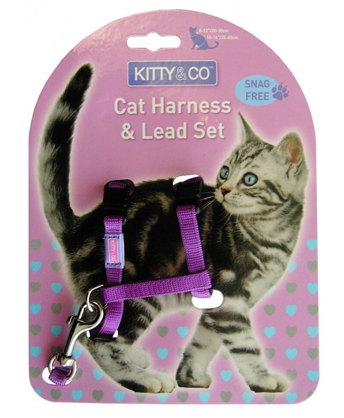 Kitty and Co Harness and Lead Set