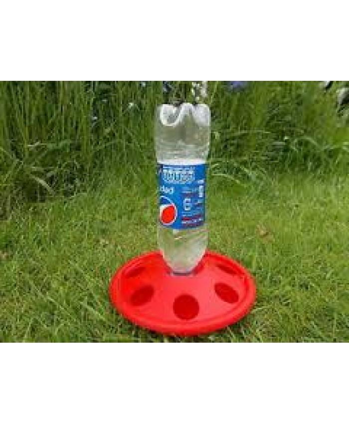 Plastic Pop Bottle Drinker