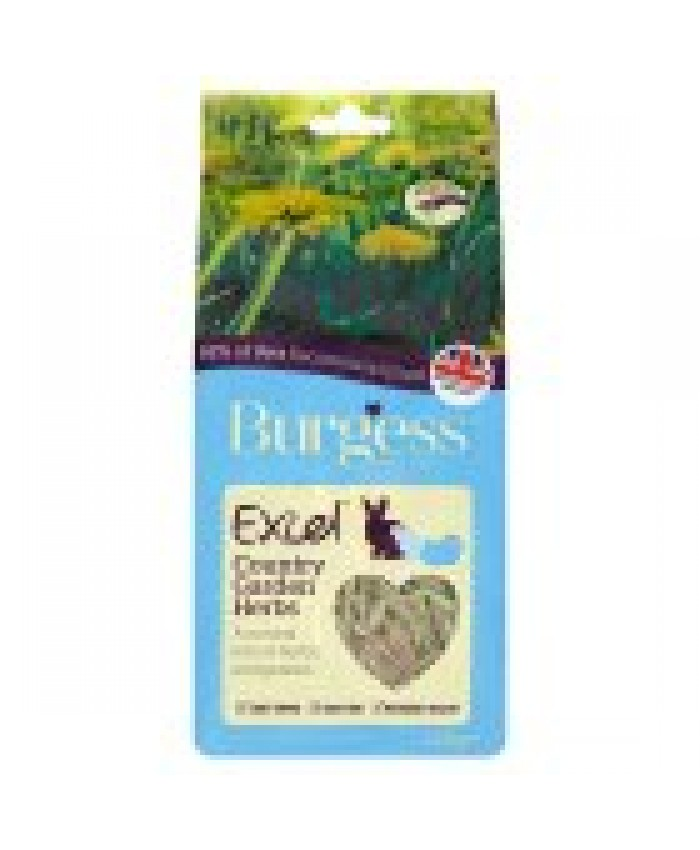 Burgess Excel Nature Snacks Country Garden Herb