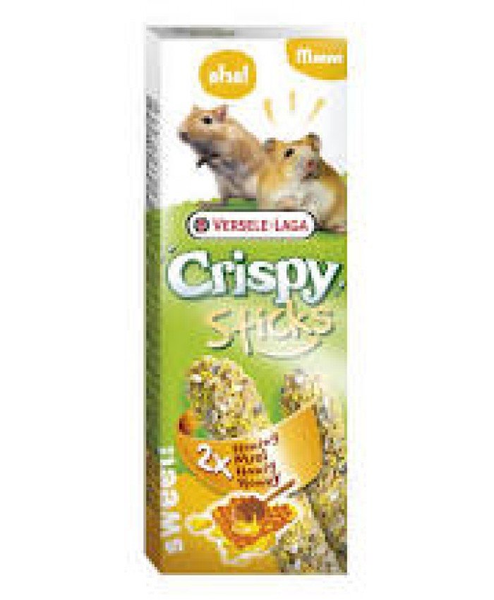 Versele -Laga Crispy Sticks Hamster & Gerbil Honey