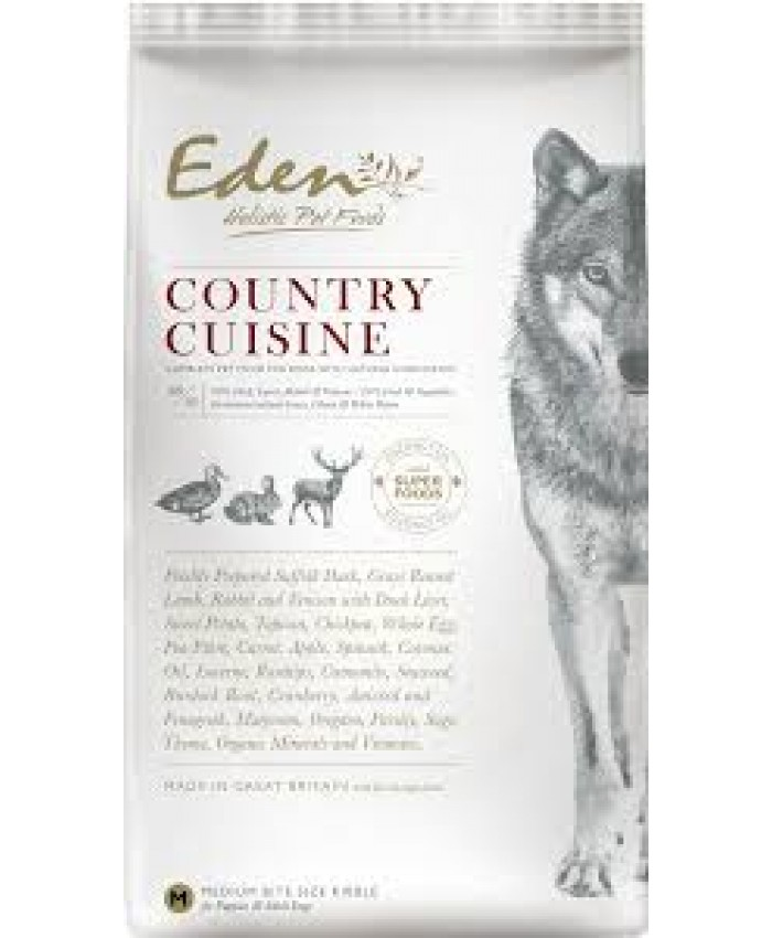 Eden Country Cuisine Med/Small Kibble