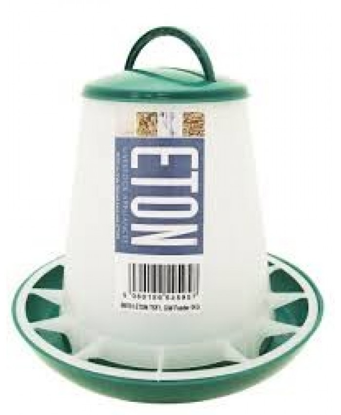 Eton Green & White Robust 1kg Plastic Feeder