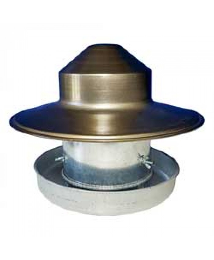 Galvanised Outdoor Covered Feeder