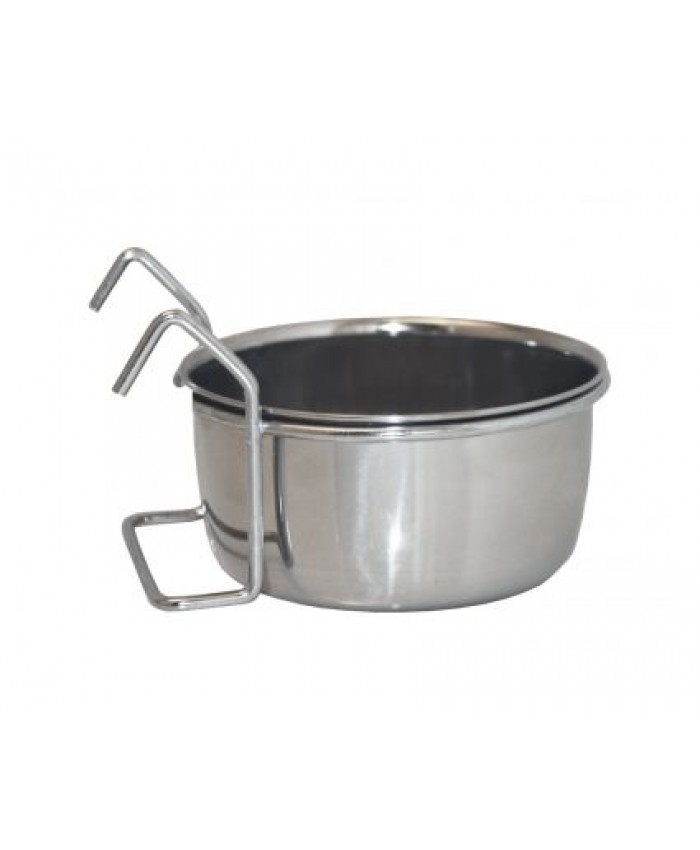 Stainless Steel Hook-on Coop Cup / Bowl