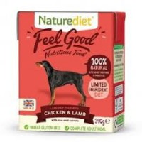 Natures Diet Feel Good Chicken & Lamb