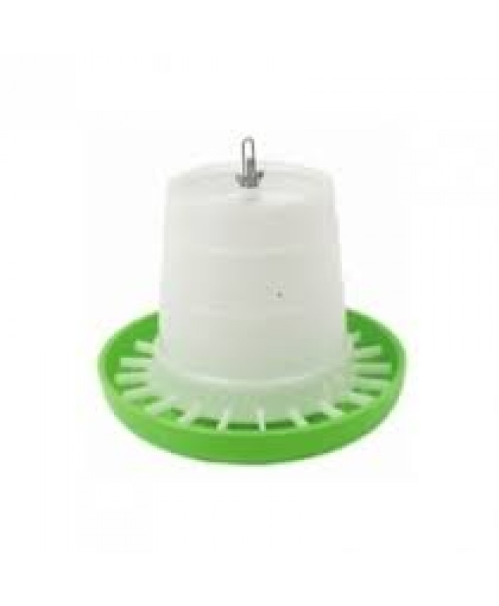 3Kg Green/White Feeder